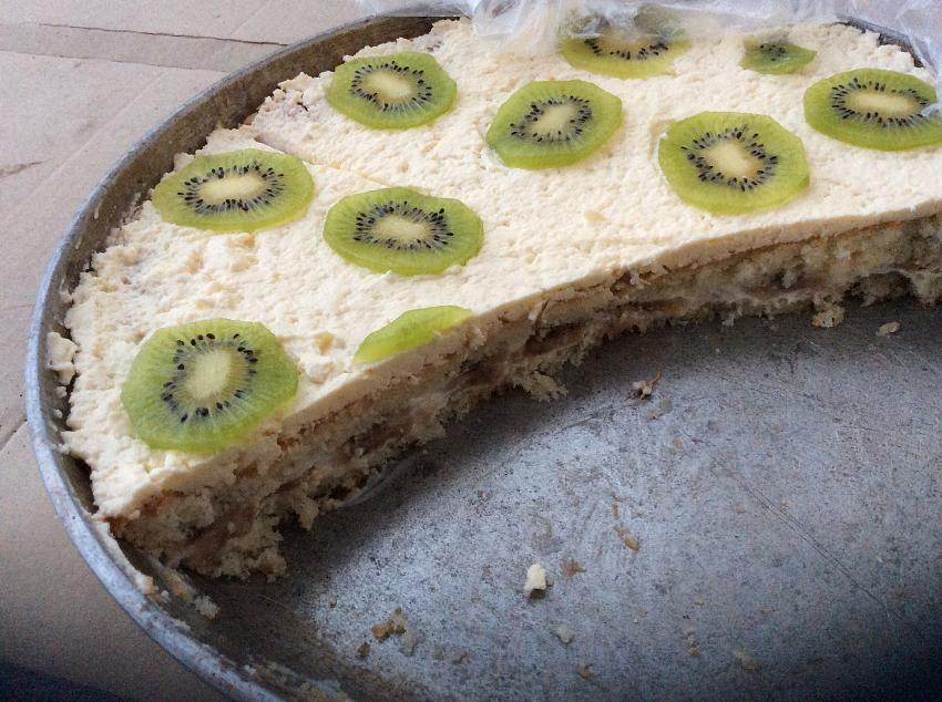 приготовить банановый торт со сгущенкой рецепт с фото популярные рецепты